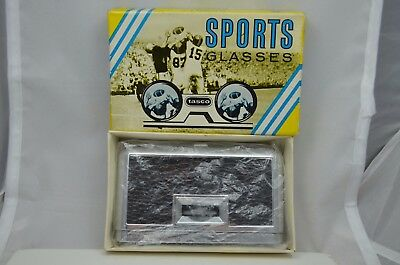 Vintage Tasco Sports Glasses Japan 2.5x23mm Binoculars Box ft