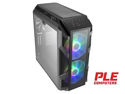 Cooler Master MasterCase H500M RGB Mid Tower Case w/Tempered Glass Side Panel..