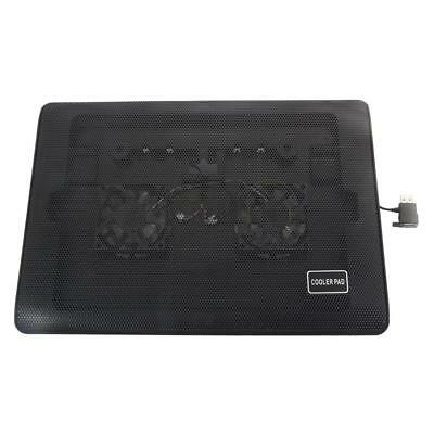"2 Fan LED 10 - 17 "" Laptop Notebook Cooling Pad Cooler Stand Chill Mat Chiller"
