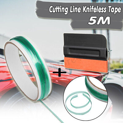 5M/10M Knifeless Finish Line Tape Squeegee Graphic Vinyl Wrapping Trim Stickers