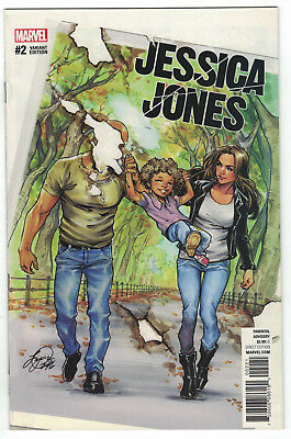 Jessica Jones #2 Siya Oum 1:25 Variant Luke Cage Defenders Marvel 2016