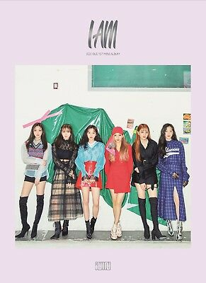 (G)I-DLE - I am CD+Photocard+ID Photo+2Stickers+Folded Poster+Tracking no.