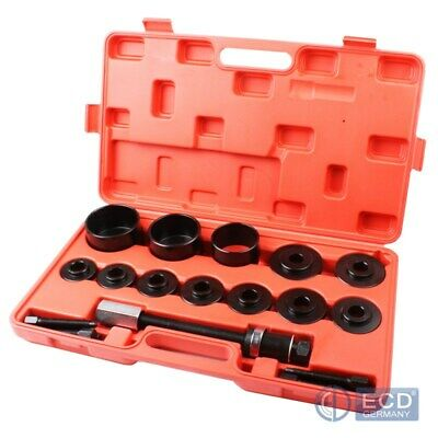 26Pc wheel drive bearing removal installation tool kit universal press pull set
