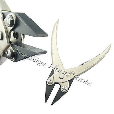Parallel flat nose pliers opticians jewellery making tools spring Prestige 5.5""