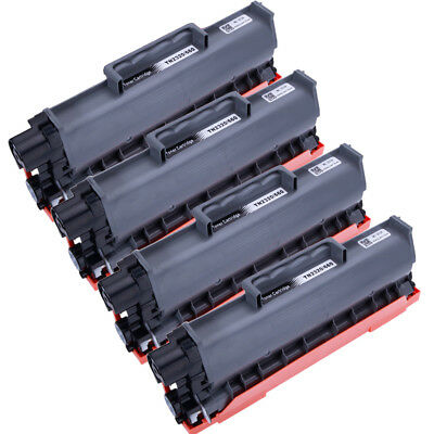 4pk High Yield Toner Cartridge TN660 TN630 HL-L2300D For Brother DCP-L2540DW