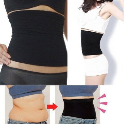 Postpartum Belly Recovery Band After Baby Tummy Tuck Belt Body Slim Shaper Black