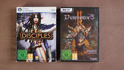 Disciples / Dungeons Pc Dvd Spiele