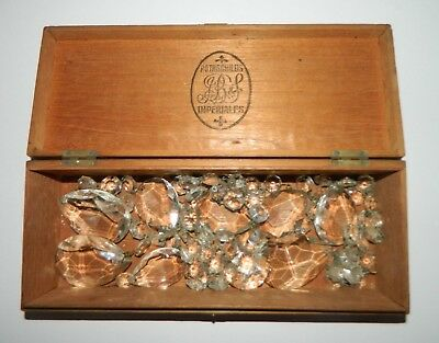 Box of Vintage Chandelier Drops