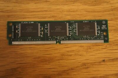 E4401-60081 Flash SIMM Memory - Loc: EQ-44-12