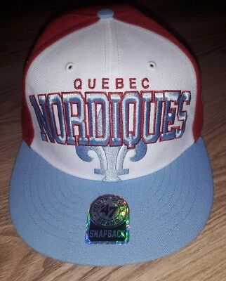 NHL Vintage Ice Hockey Cap by 47 Brand QUEBEC NORDIQUES
