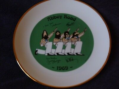 The Beatles Last Memento Rare Collector Plate Abbey Road
