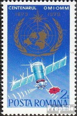 Romania 3128 (complete issue) unmounted mint / never hinged 1973 Meteorology