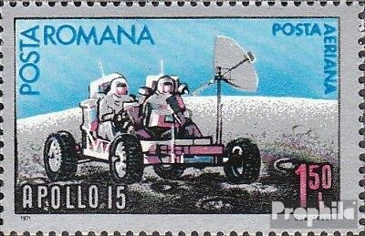 Romania 2969 (complete issue) unmounted mint / never hinged 1971 Apollo 15
