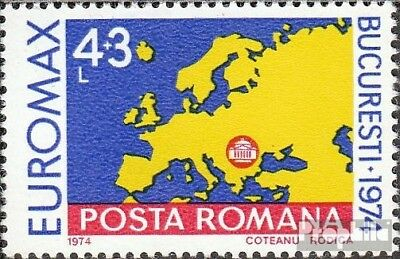 Romania 3219 (complete issue) unmounted mint / never hinged 1974 Maximaphilie-Au