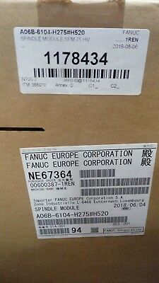 fanuc spindle amplifier module a06b-6104-h275 BRAND NEW !!!