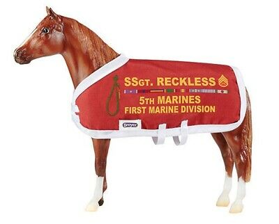 Breyer Traditional Horse #1493 Sergeant Reckless Decorated Korean War Horse - R