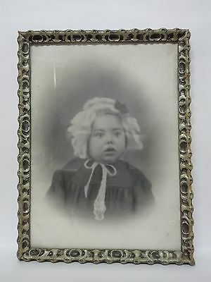 Photography Post Mortem Girl Portrait of death Victorian Framed Year 1900
