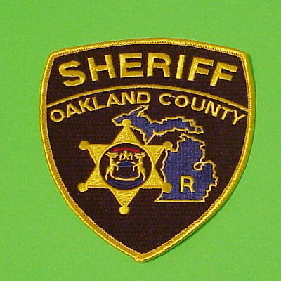 Oakland County  Michigan  Mi  Reserve  Police Dept. Patch  Free Shipping!!!
