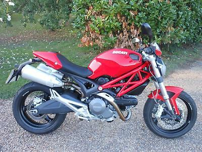 Ducati Monster 696 Naked, 2008, 2,922 Miles, Service History, Stunning Condition
