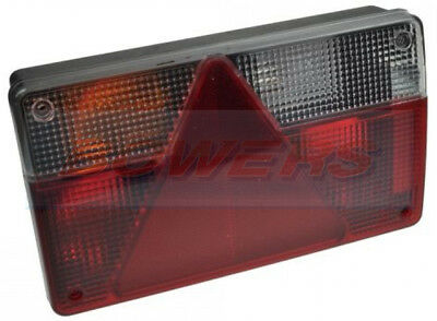 Ajba Aj.ba Fp80 Quick Fit Plug In Left Hand Rear Light Lamp Erde Daxara Trailer
