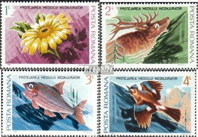 Romania 4031-4034 unmounted mint / never hinged 1984 Environment