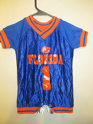 ce95468fc FLORIDA GATORS BABY Jersey NCAA College Football 0-3 Months Blue ...