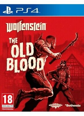 Wolfenstein - The Old Blood, PS4 PlayStation4 Lingua ITA - 1010595 KOCH MEDIA