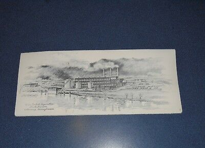 Linde Air Union Carbide , Kittanning,pa. Plant Christmas Card