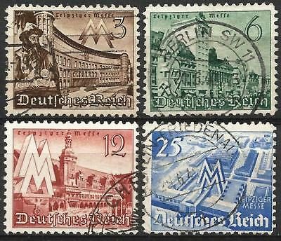 Germany (Third Reich) 1940 Used - Leipzig Spring Fair Gutenberg Old Town Hall