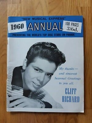 Nme Annual 1960 Cliff Richard cover