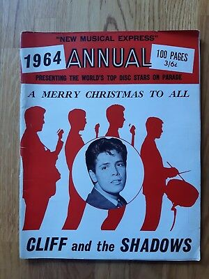 Nme Annual 1964 Cliff Richard and Shadows cover