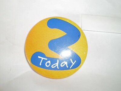 3 Today Badge - Pin - Celebration - Party accessory