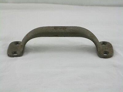 Vintage Cast Iron Barn Door Handle Pull  Gate Pull Large