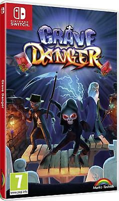 Grave Danger Switch Game | BRAND NEW & SEALED