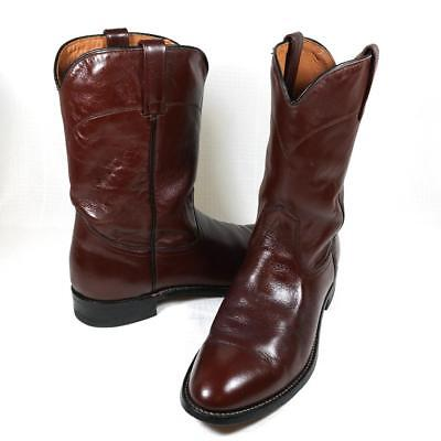 3267e90616d VTG 90S RED Wing Pecos Leather Pull Up Work Boots Mens 9.5 B Red Brown USA  Made