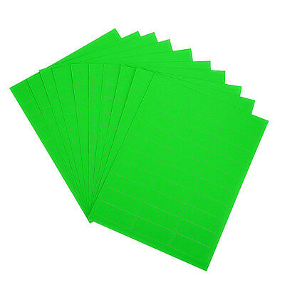 3000 address labels/100 sheets fluorescent green color amazon FBA labels 30up