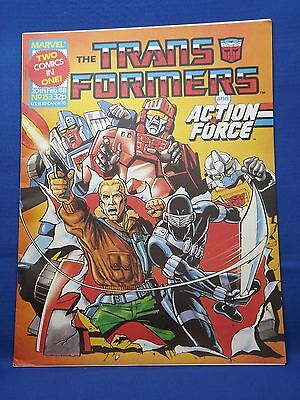 Marvel The Transformers UK Weekly Comic #153 Feb 20th 1988