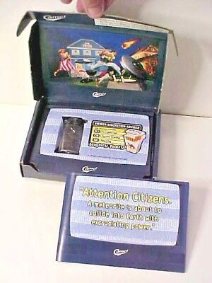 1990s Joe Camel trench style Cigarette Lighter Mint In Box with Story Book