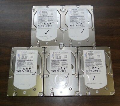 Lot of 5 Seagate Cheetah 15K.7 ST3300657SS SAS 6 Gbps 300GB HD 9FL066-039