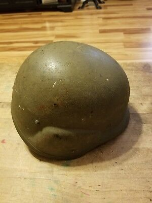 Vintage Unicor PASGT US Army Issued Helmet L-1 Military Surplus Ballistic