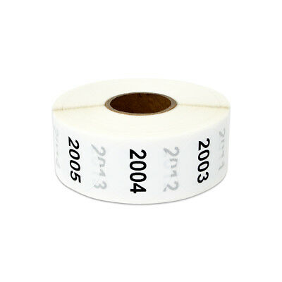 "Consecutive Numbers 2001-3000 Stickers Inventory Counting Labels (1"" Round, 2PK)"