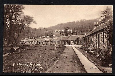Baledgarno Inchture Perthshire Unposted Village Scene Circa Early 1900s