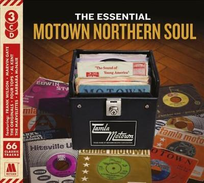 Various Artists - The Essential Motown Northern Soul [9/28] New Cd