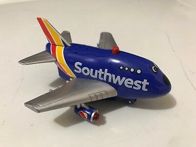 Southwest Airlines Toy Airplane Lights Up Sounds Works Daron