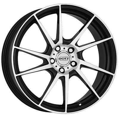 19 Inch Dotz Kendo 5x114 3 Et48 8j Black Alloy Wheels Acura Tl Type