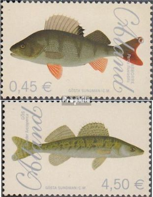 Finland - Aland 289-290 (complete.issue.) fine used / cancelled 2008 Fish