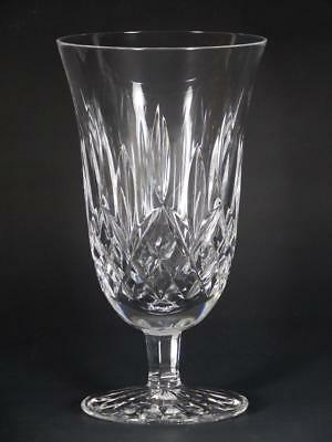 """Waterford Crystal Lismore 6 1/2"""" Stemmed Iced Tea Glass - MINT"""