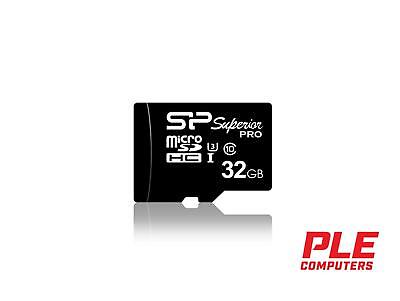 Silicon Power 32GB Superior Pro UHS-1 Micro SD Card (inc. SD Adapter)[SP032GB..