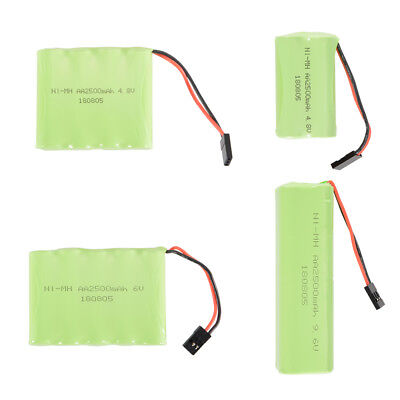 RC 4.8V/6V/9.6V 2500mAh AA Ni-MH Rechargeable Battery Pack with Futaba Connector