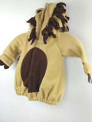 Old Navy Baby Lion Halloween Costume Top Size 6-12 Months